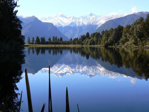 Le Mont Cook, dans les Alpes Néozélandaise